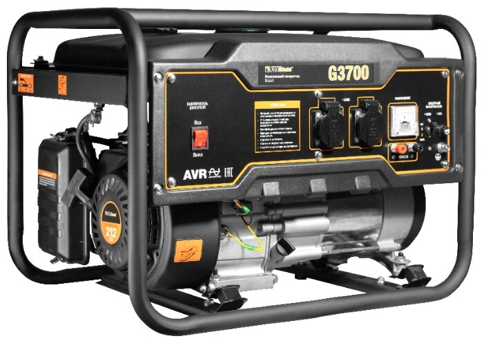 бензиновая электростанция foxweld expert g3700