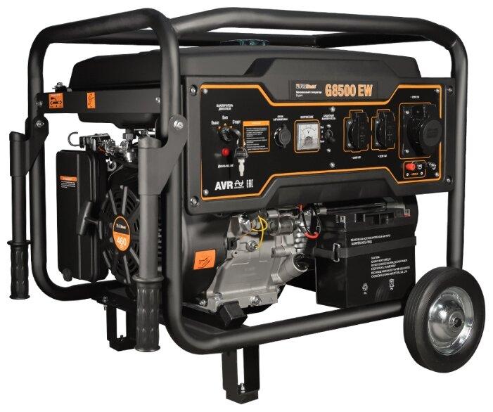 бензиновая электростанция foxweld expert g8500 ew