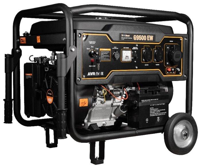 бензиновая электростанция foxweld expert g9500 ew