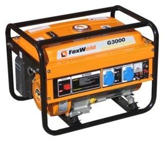 бензиновая электростанция foxweld g3000