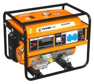 бензиновая электростанция foxweld g4000