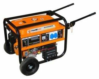 бензиновая электростанция foxweld g4000ew