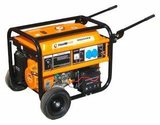 бензиновая электростанция foxweld g6500ew