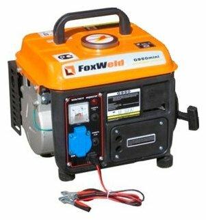 бензиновая электростанция foxweld g950 mini