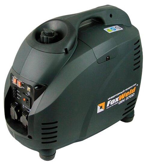 бензиновая электростанция foxweld gin-3700