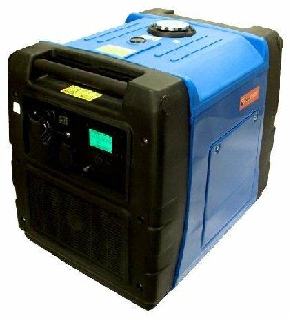 бензиновая электростанция foxweld gin-5600ed