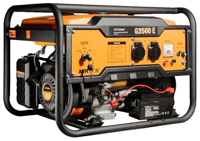 бензиновая электростанция foxweld standart g3500 e