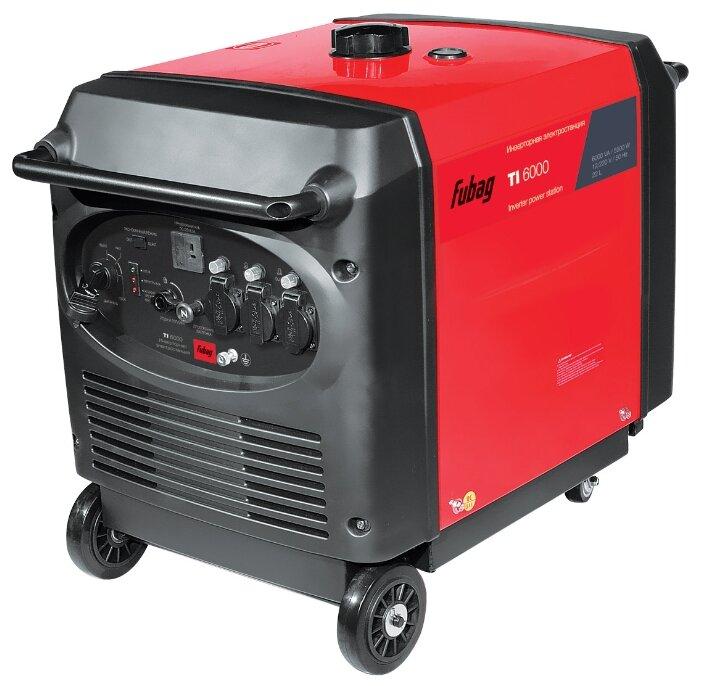 бензиновая электростанция fubag ti 6000