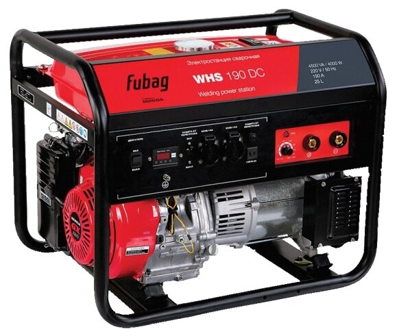 бензиновая электростанция fubag whs 190 dc