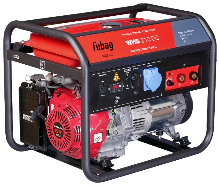 бензиновая электростанция fubag whs 210 dc