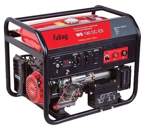 бензиновая электростанция fubag ws 190 dc es