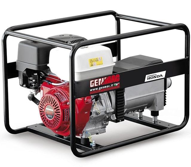 бензиновая электростанция genmac click g7900ho