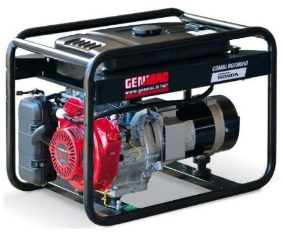бензиновая электростанция genmac combi rg7300heo