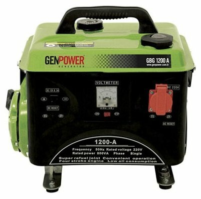 бензиновая электростанция genpower gbg 1200