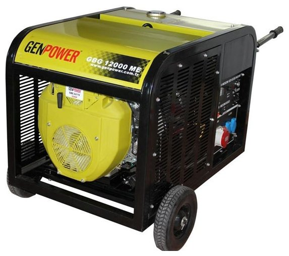 бензиновая электростанция genpower gbg 12000 me