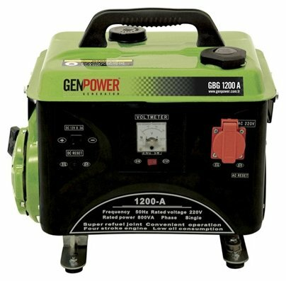 бензиновая электростанция genpower gbg 1200 a