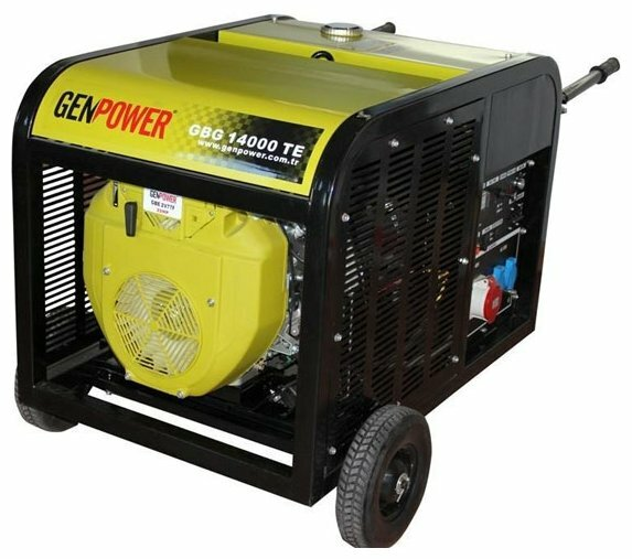 бензиновая электростанция genpower gbg 14000 te