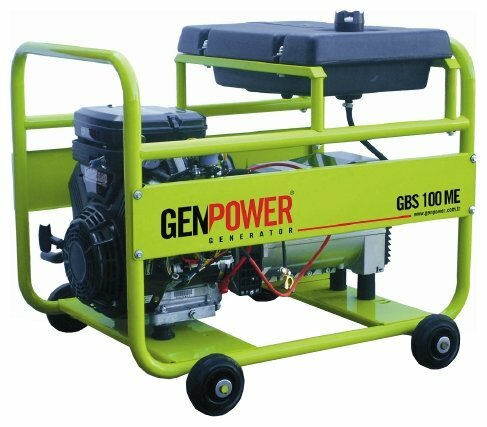 бензиновая электростанция genpower gbs 100 me