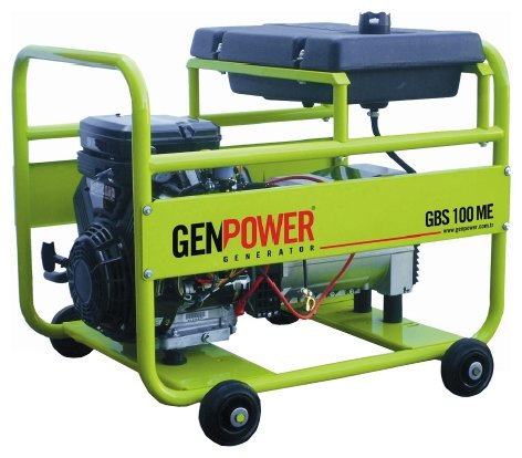 бензиновая электростанция genpower gbs 100 te