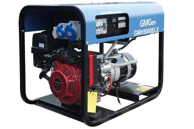 бензиновая электростанция gmgen gmh5000elx