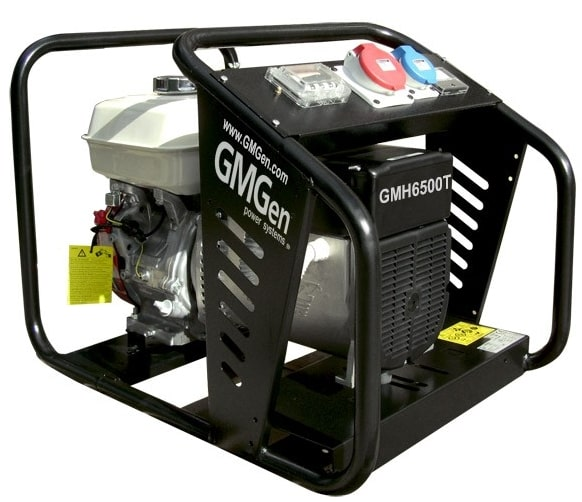 бензиновая электростанция gmgen gmh6500t