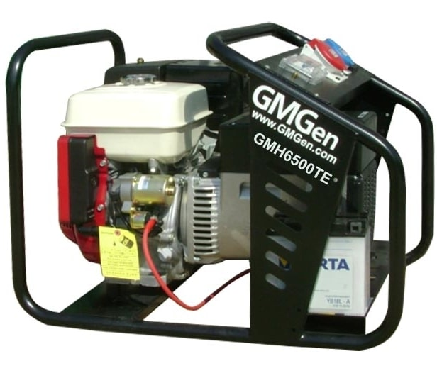 бензиновая электростанция gmgen gmh6500te