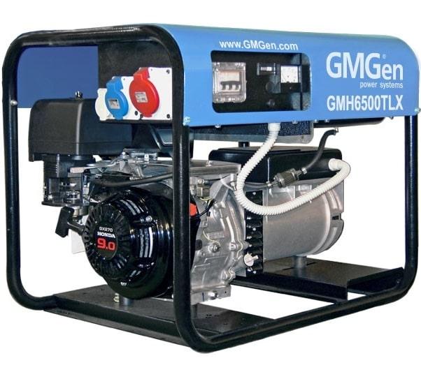 бензиновая электростанция gmgen gmh6500tlx