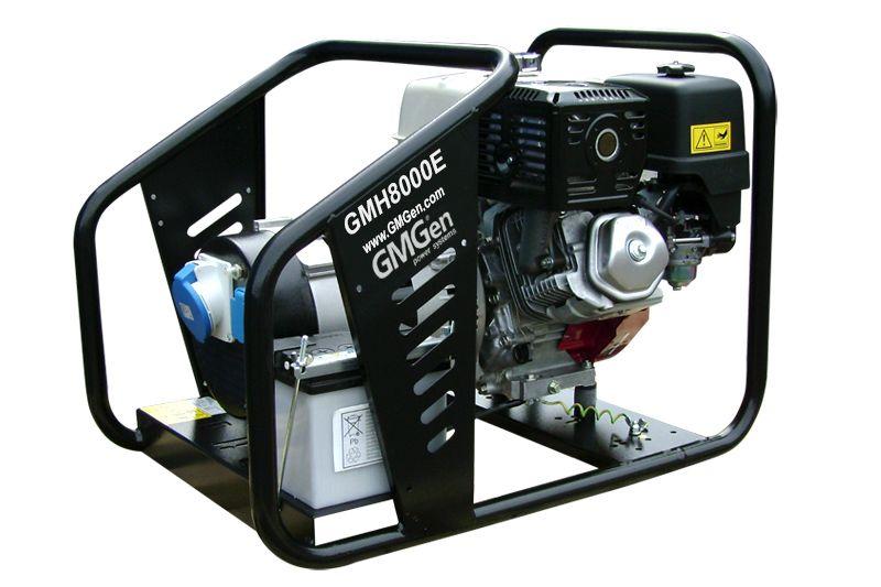 бензиновая электростанция gmgen gmh8000e