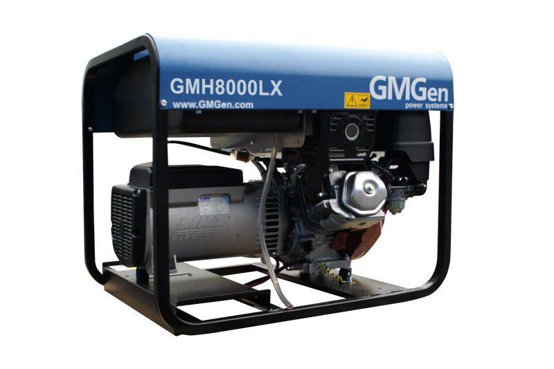 бензиновая электростанция gmgen gmh8000lx
