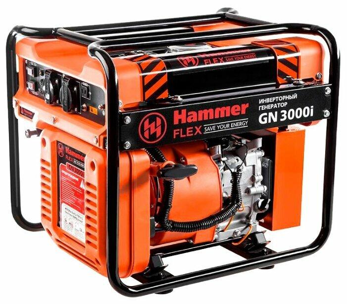 бензиновая электростанция hammer gn3000i