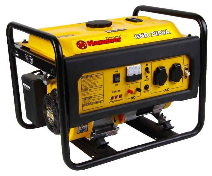 бензиновая электростанция hammer gnr2200 а