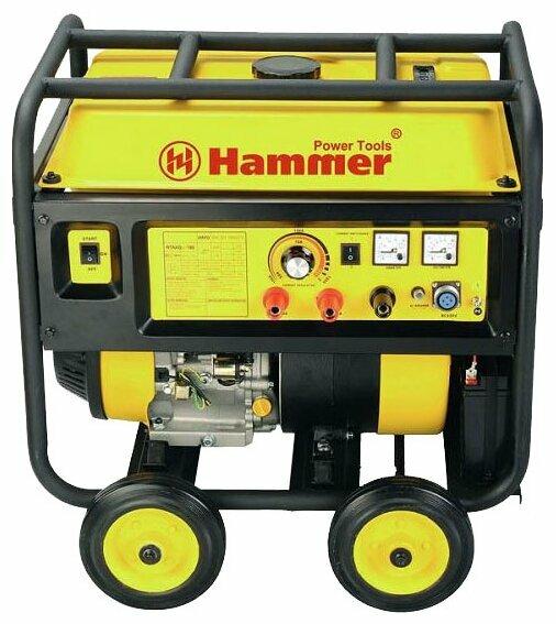 бензиновая электростанция hammer gnr3000 e