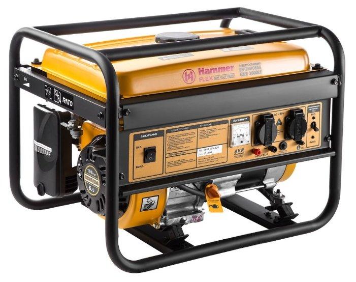 бензиновая электростанция hammer gnr3000le