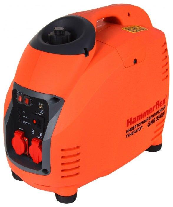 бензиновая электростанция hammer gnr3500i
