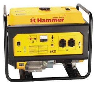 бензиновая электростанция hammer gnr5000 а