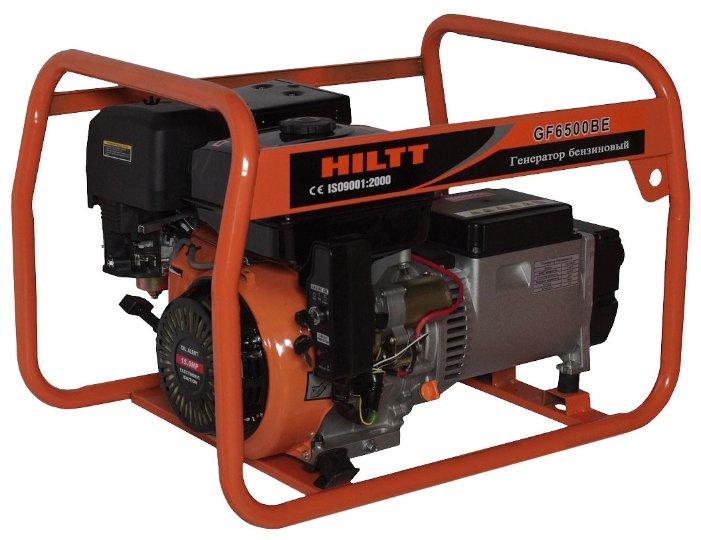 бензиновая электростанция hiltt gf6500be