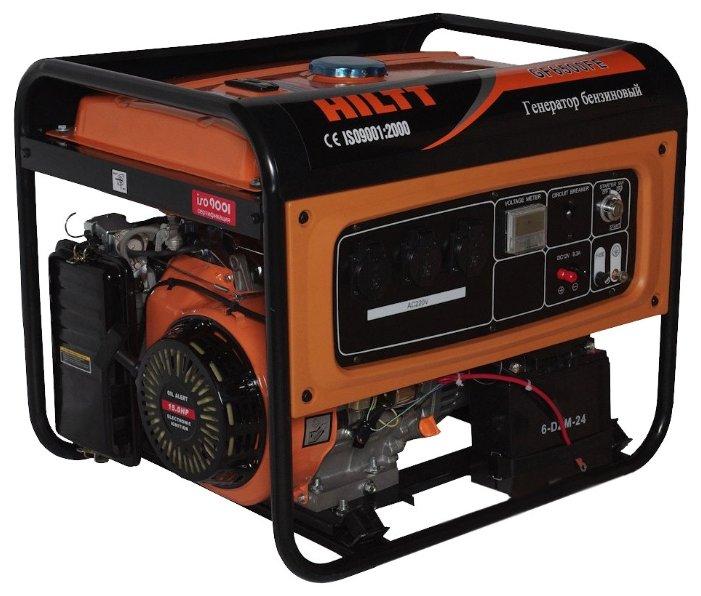 бензиновая электростанция hiltt gf6500fe