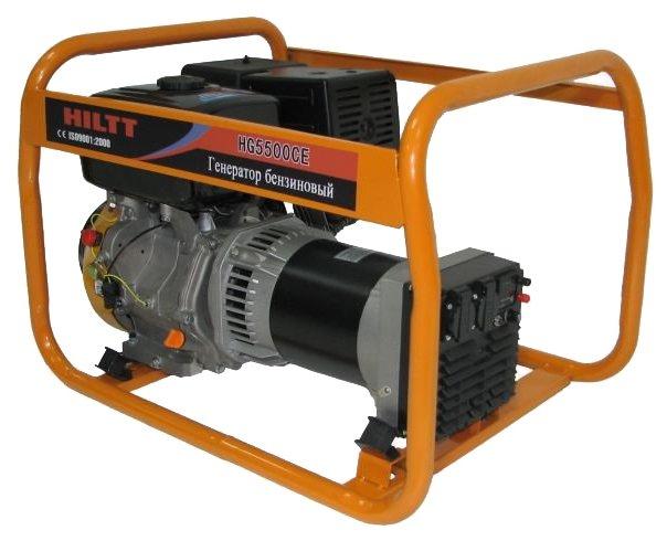 бензиновая электростанция hiltt hg5500ce