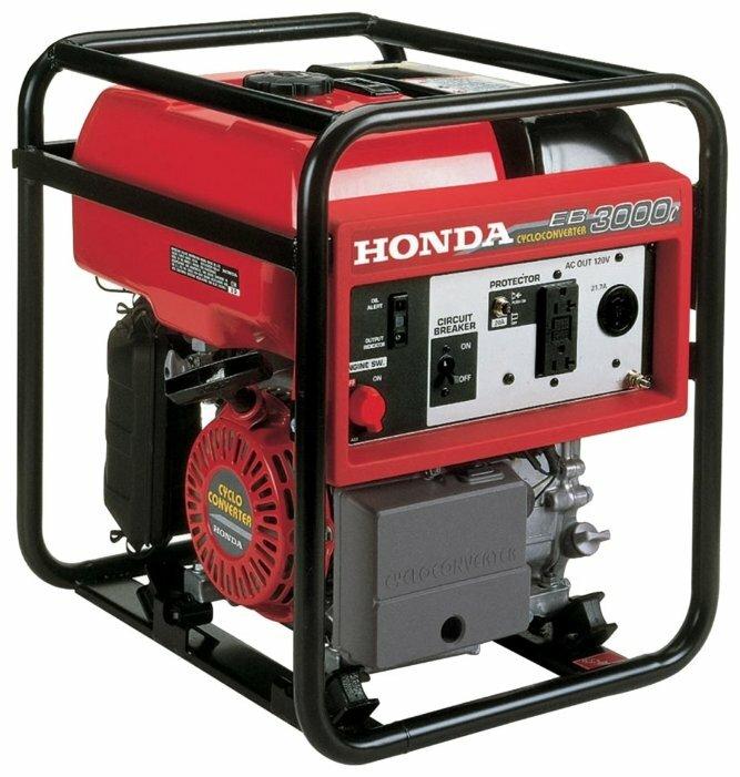 бензиновая электростанция honda eb3000c