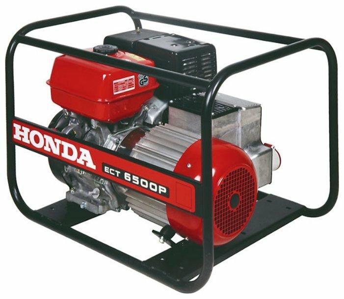 бензиновая электростанция honda ect6500p