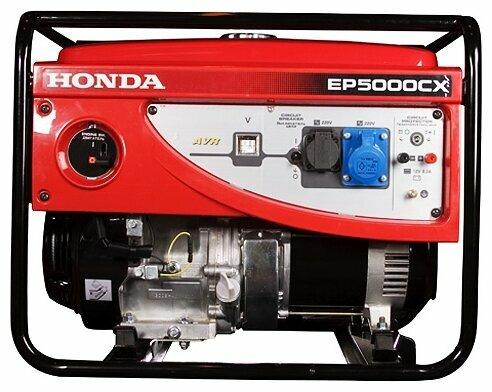бензиновая электростанция honda ep5000cx