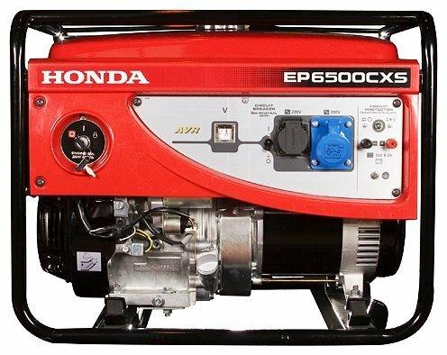 бензиновая электростанция honda ep6500cxs