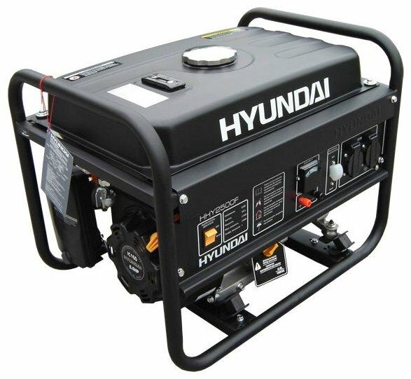 бензиновая электростанция hyundai hhy 1800f