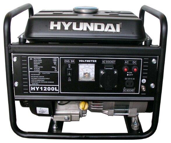 бензиновая электростанция hyundai hy1200l
