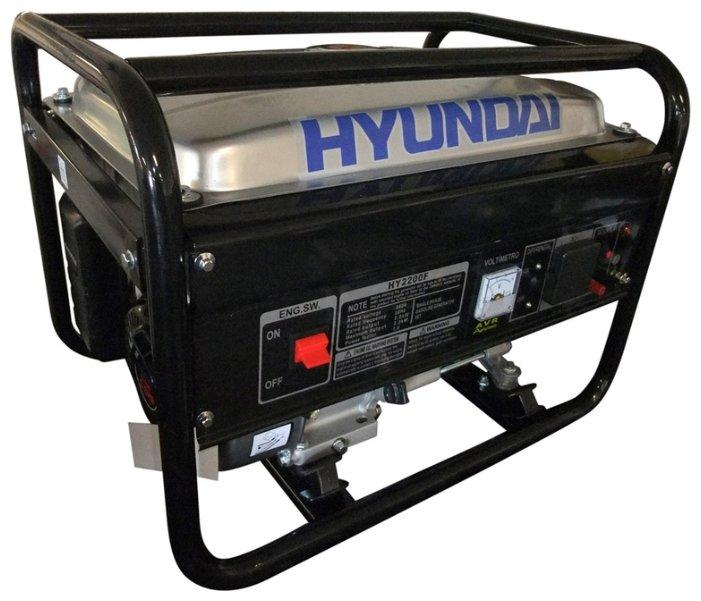 бензиновая электростанция hyundai hy2200f