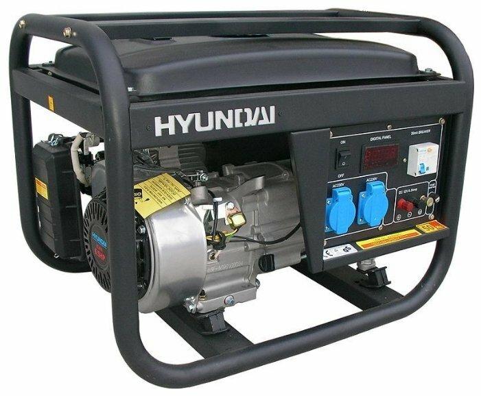 бензиновая электростанция hyundai hy2500l