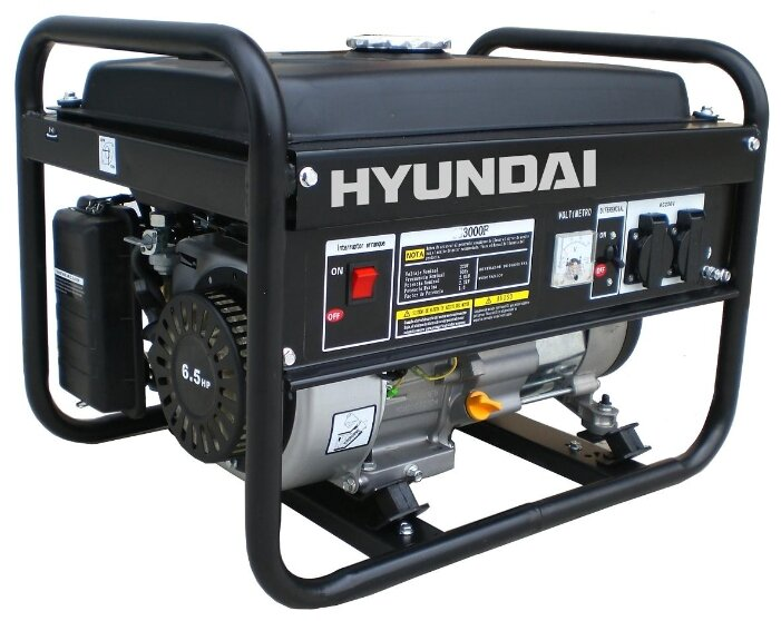 бензиновая электростанция hyundai hy3000f