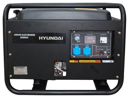 бензиновая электростанция hyundai hy3100se