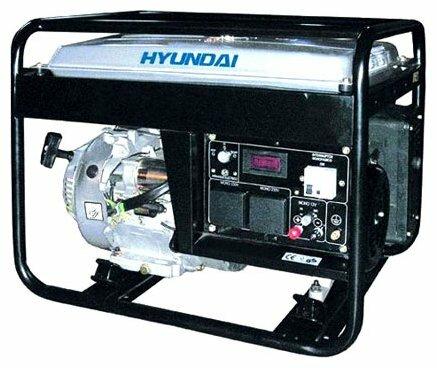 бензиновая электростанция hyundai hy6000l