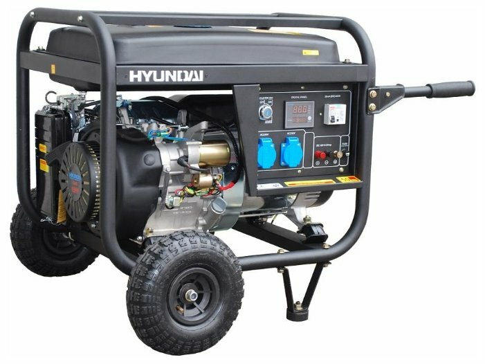 бензиновая электростанция hyundai hy6000lk